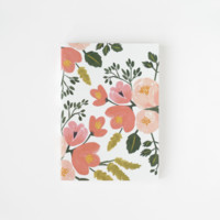 Rose Botanicals Everyday Journal | Smyth Sewn Journal | RIFLE PAPER Co. | Made in USA