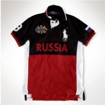 Beauty Ticks Ralph Lauren Custom Ocean Challenge Polo Russia Mrlfp064