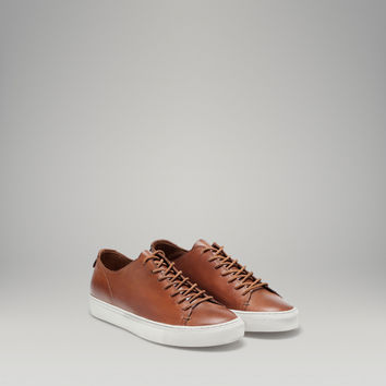 NAPPA LEATHER TRAINER - Shoes - MEN - United States of America / Estados Unidos de América