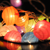 20 x butterfly cocoon vivid color wedding light by cottonlight