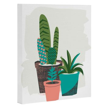 Zoe Wodarz Cactus Afternoon Art Canvas