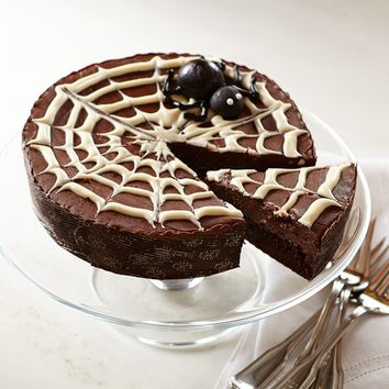 We Take the Cake Halloween Spider Web Cake