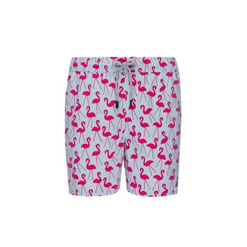 Tom & Teddy Flamingo Trunks Fuchsia