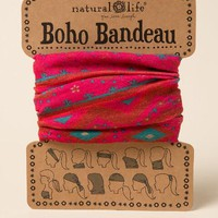 Boho bandeau by natural life in pink southwest