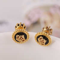 Accessory Crown Earring Stylish Jewelry [6573073159]