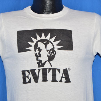 70s Evita Broadway Musical t-shirt Extra Small