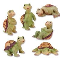 TURTLES (SET OF 6), SS-5174