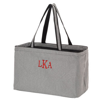 Houndstooth tote monogrammed, Alabama Houndstooth Tote, U of A Tote