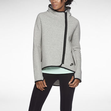 The Nike Tech Fleece Cape Women's Hoodie.