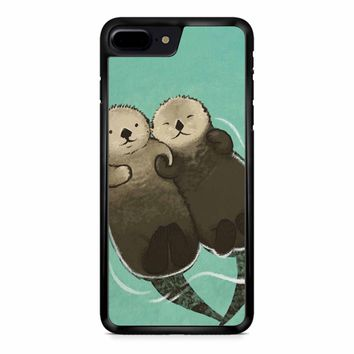 Significant Otters Otters Holding Hands iPhone 8 Plus Case