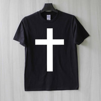 Cross Shirt T Shirt Tee Top TShirt – Size XS S M L XL