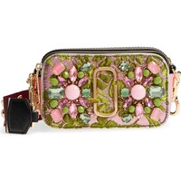 MARC JACOBS Snapshot Brocade Crossbody Bag | Nordstrom