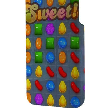 Best 3D Full Wrap Phone Case - Hard (PC) Cover with Sweet Candy Crush Saga Design