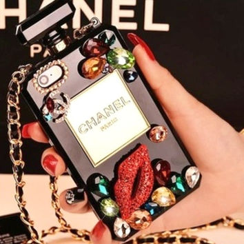 Chanel iphone 5 case chanel case iphone 4s case chanel cover iphone chanel perfume bottle case iphone bling case iphone