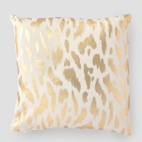 "Colordrift Zara Gold Decorative Pillow 19"" - Home 