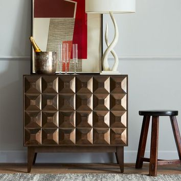 Lubna Chowdhary Tiled Dining Storage