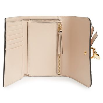 Chloé Alphabet Leather Wallet | Nordstrom