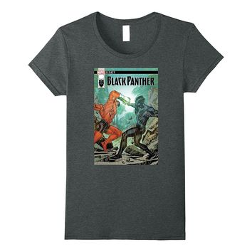 Marvel Black Panther Duel Legacy Comic Cover Graphic T-Shirt