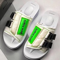 Trendsetter Palm Angels x Suicoke Edition Patch Slides  Women Men Fashion Casual Slipper Shoes