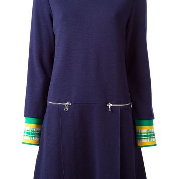 Marc By Marc Jacobs contrast cuff sweater dress