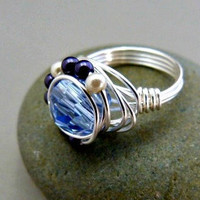 It's My Party - Wire Wrapped Cocktail Ring