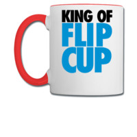 King of Flip Cup - Coffee/Tea Mug