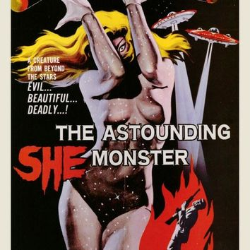 The Astounding She-Monster 27x40 Movie Poster (1958)