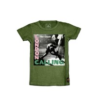 THE CLASH - LONDON CALLING KIDS BOYS TEE