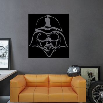 ik2715 Wall Decal Sticker Darth Vader character Star Wars children's room teenager