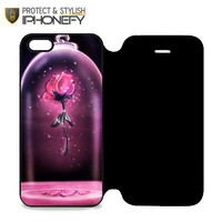 Beauty And Beast Rose iPhone 5|5S Flip Case|iPhonefy