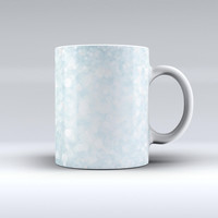 The Unfocused Blue Orb Lights ink-Fuzed Ceramic Coffee Mug