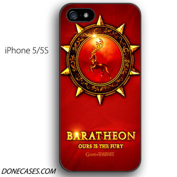House Baratheon game of thrones iPhone 5 / 5S Case