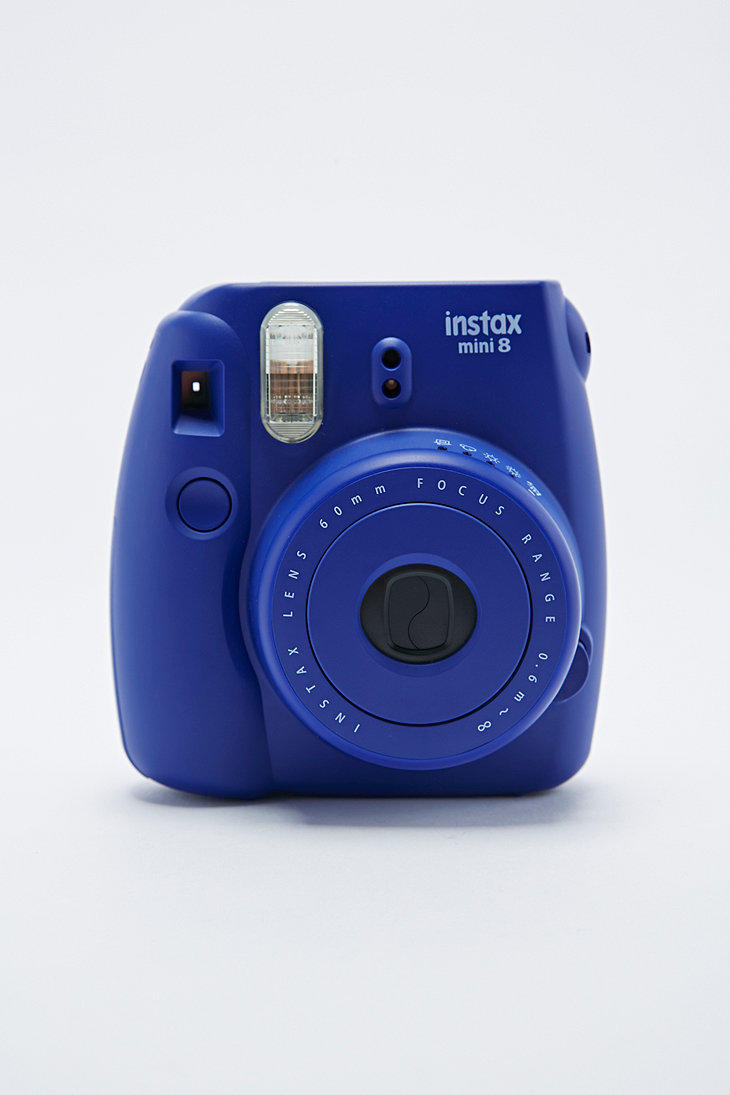 fujifilm instax mini 8 camera in indigo from urban outfitters. Black Bedroom Furniture Sets. Home Design Ideas