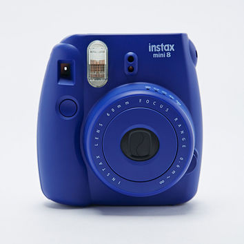 Fujifilm Instax Mini 8 Camera in Indigo - Urban Outfitters