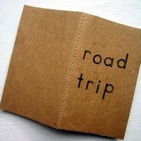 Road Trip JournalMini NotebookRepurposed Brown by MontclairMade