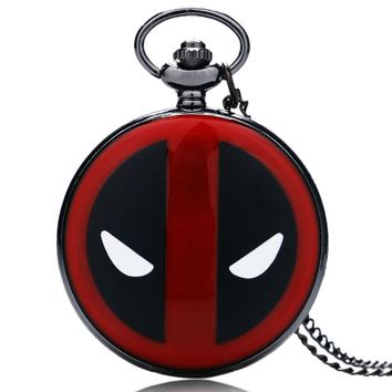 Deadpool Vintage Bronze pocket watch
