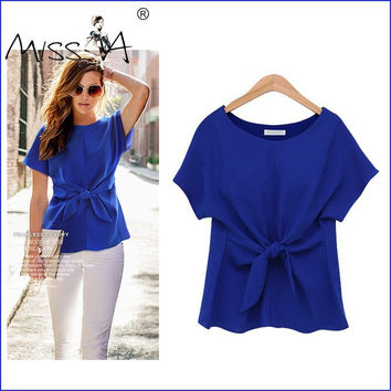 Butterfly 3-color Short Sleeve Women's Fashion Tops T-shirts [6281474756]
