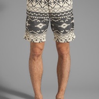 Scotch & Soda Aztec Print Short in Black/White from REVOLVEclothing.com