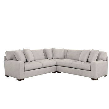 Del Mar Corner Sectional - 3 PC | Relaxed Del Mar Concentric Living Room Inspiration | Living Room Inspiration | Inspiration | Z Gallerie