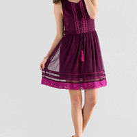 Cattalo Embroidered Dress