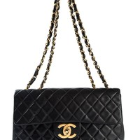 Chanel Vintage flap quilted shoulder bag
