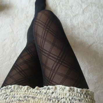 Pantyhose Stripes Plaid Socks [47781576711]