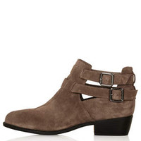 MONTI2 Cutout Boots - Taupe