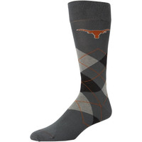 Texas Longhorns Argyle Tube Socks