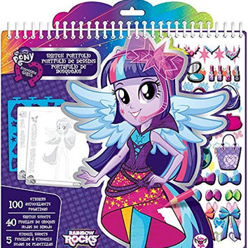 Fashion Angels Equestria Girls Fashion Design Sketch Portfolio