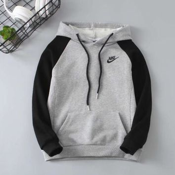 Nike Girls Boys Children Baby Toddler Kids Child Fashion Casual Top Sweater Pullover Hoodie