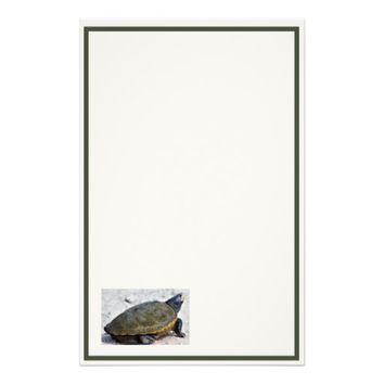 Turtle Photo Stationery