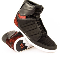 Y-3 Honja High Black/Sup Col/Black Sneaker