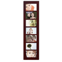 7-Opening Collage Picture Frame Brown (7-Opening)