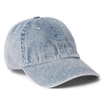Washed Denim Baseball Hat|gap